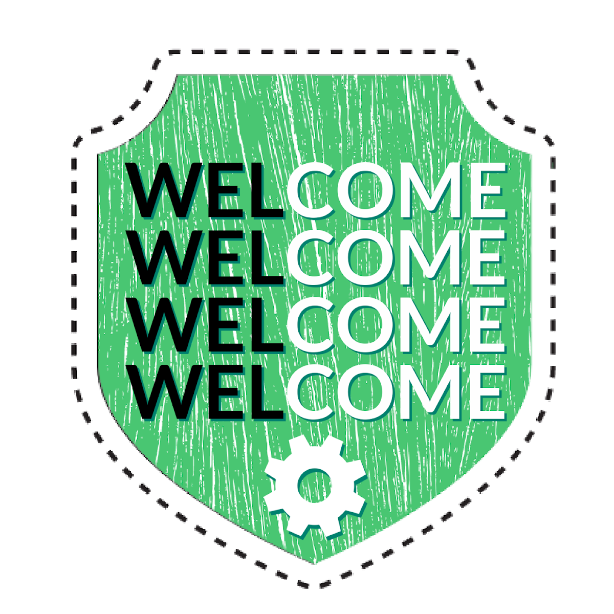 Welcome Badge