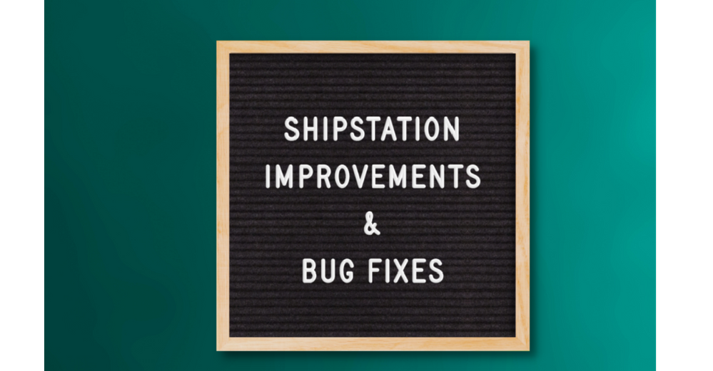 ShipStation Improvements and Bug Fixes (Mar 20 - Apr 2)